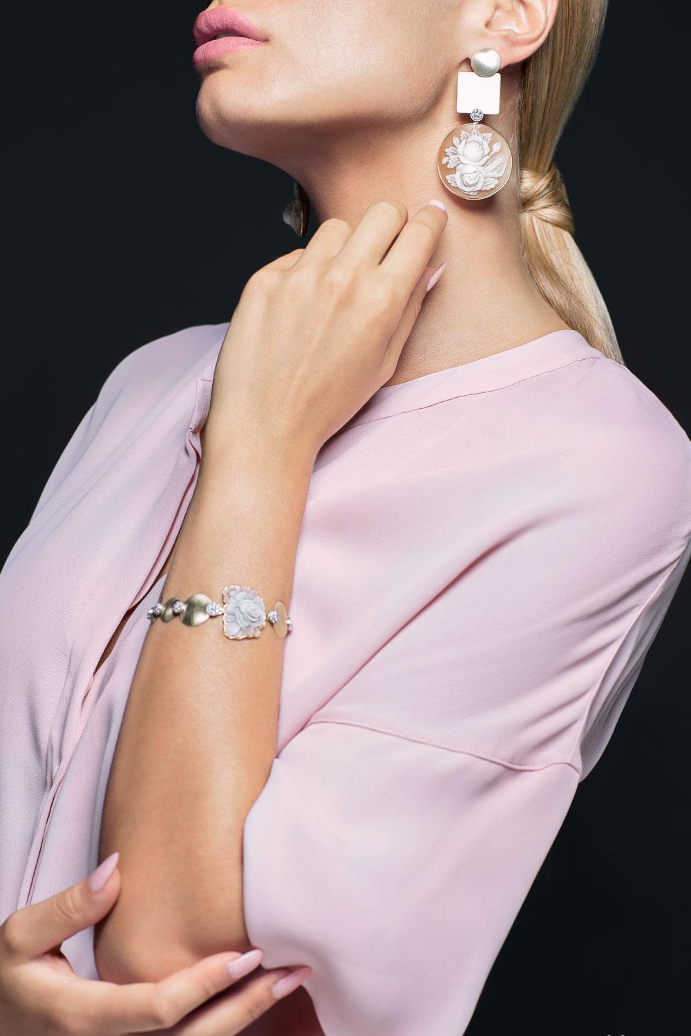 Piastre Cammei | Gaetano Vitiello Jewelry