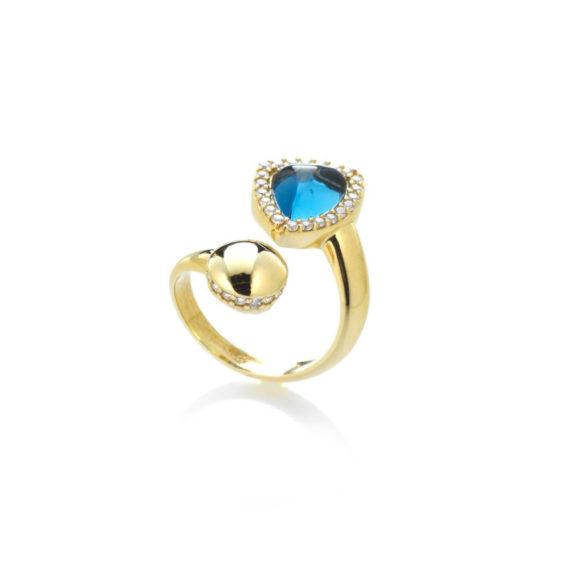 Anello Rugiada Cielo | Gaetano Vitiello Jewelry