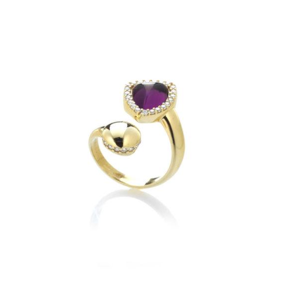 Anello Rugiada Lavanda | Gaetano Vitiello Jewelry