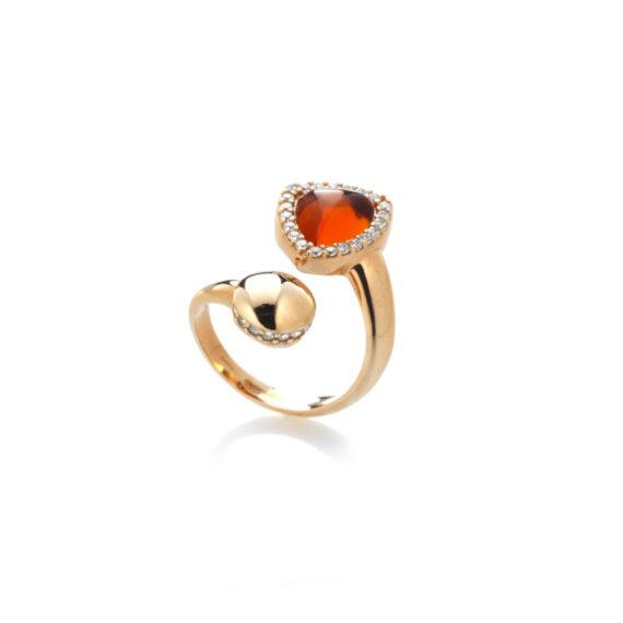 Anello Rugiada Miele | Gaetano Vitiello Jewelry