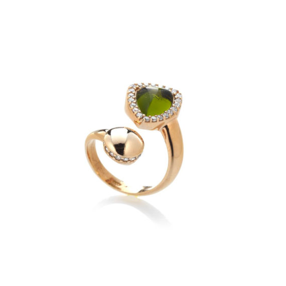 Anello Rugiada Prato | Gaetano Vitiello Jewelry