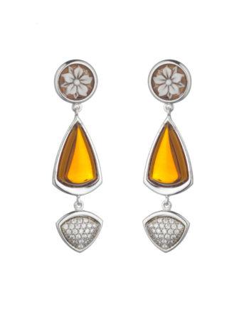 Cammeo Rugiada Pavié Miele | Gaetano Vitiello Jewelry