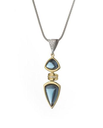 Ciondolo Rugiada Scudo Cielo | Gaetano Vitiello Jewelry