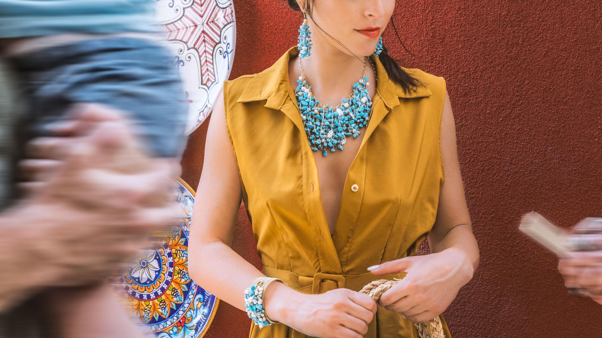 Collezione Uncinetto - Shooting a Positano | Gaetano Vitiello Jewelry