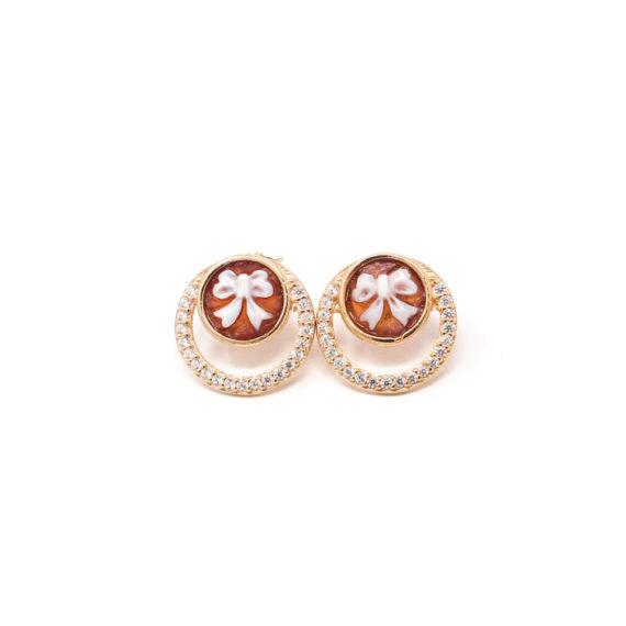 Orecchini Cammeo Daiana Tondo | Gaetano Vitiello Jewelry