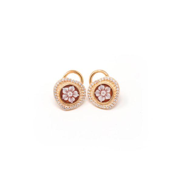 Orecchini Cammeo Daiana Catenaccio Oro | Gaetano Vitiello Jewelry