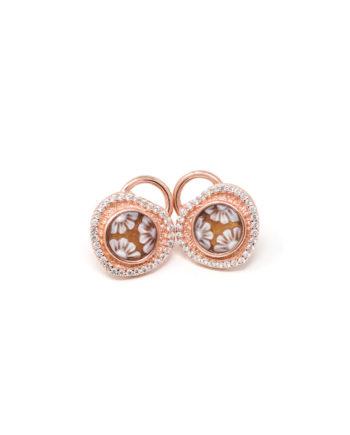 Orecchini Cammeo Daiana Catenaccio Rosato | Gaetano Vitiello Jewelry